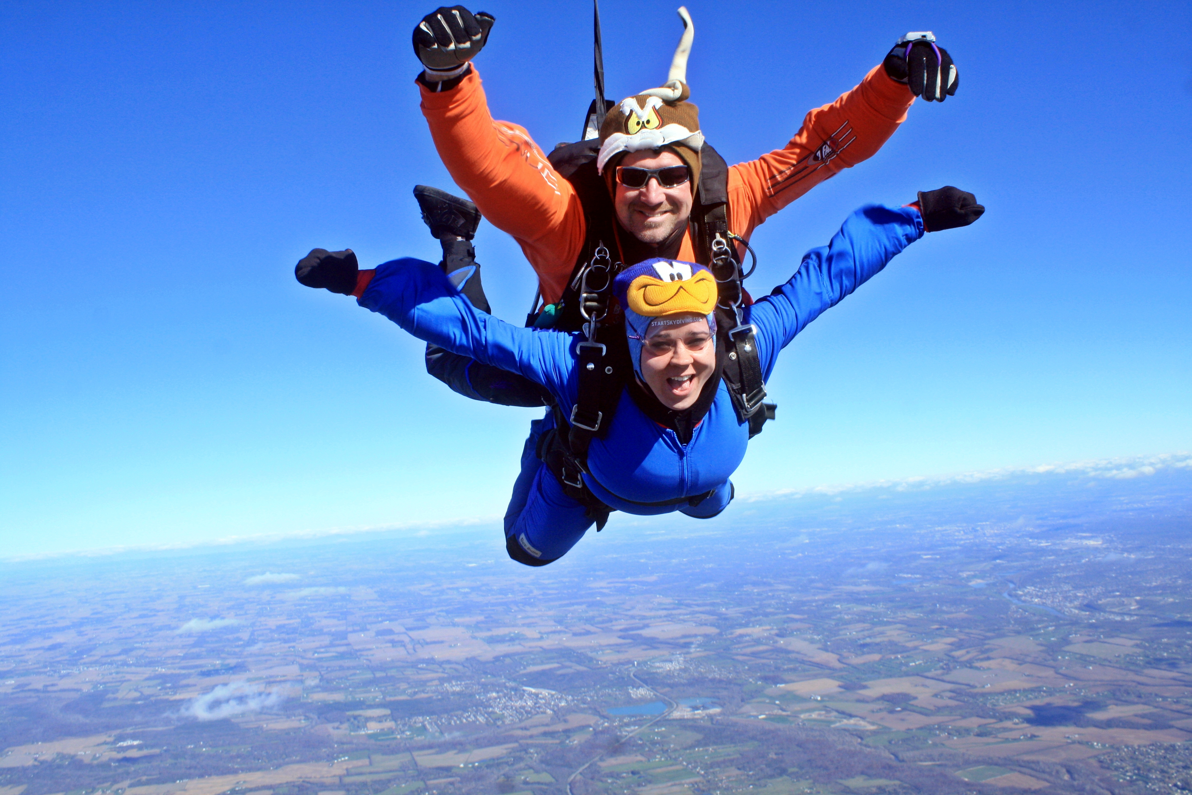 Image result for sky diving happy