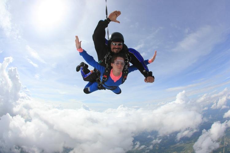 Danielle McNamee Tandem Skydive