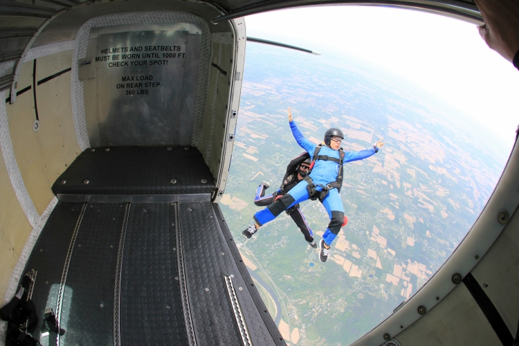 Skydive in