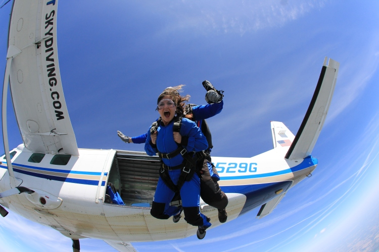 Skydiving Indy