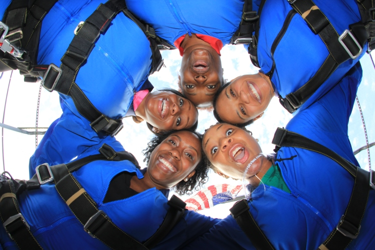 Skydive indy