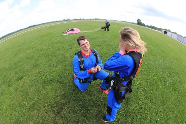 Skyjumping