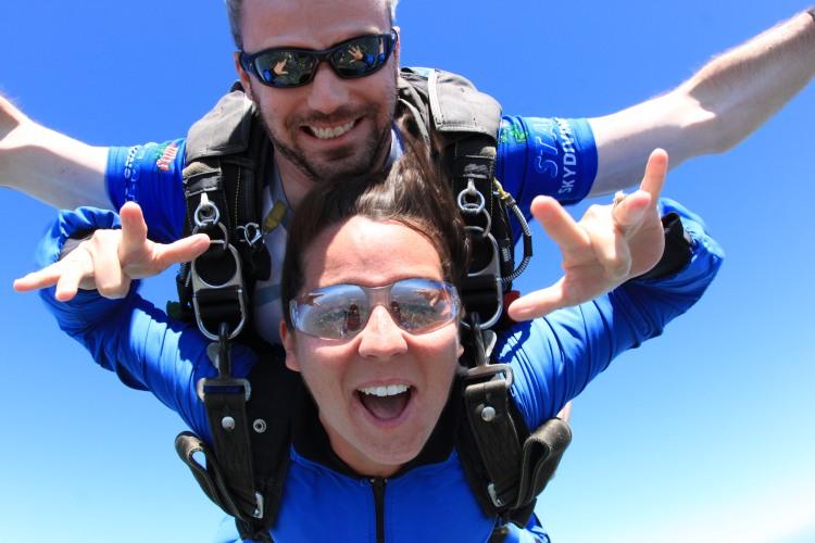 129 Dollar Skydive