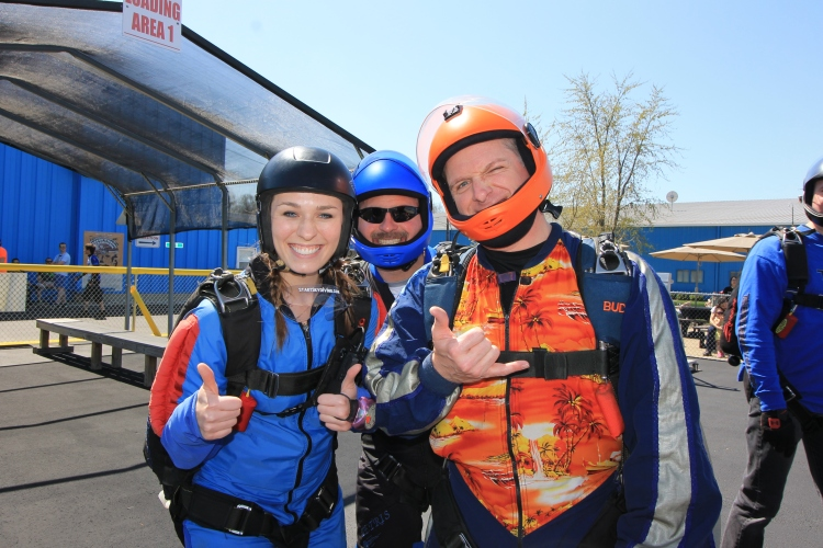 Start Skydiving